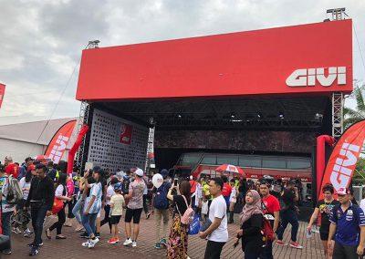 Givi x MotoGP at Sepang Circuit 2018