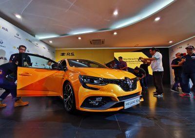 Renault Megane RS Preview at Renault HQ, PJ 2019